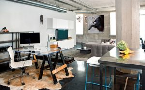 polished concrete office the decoist