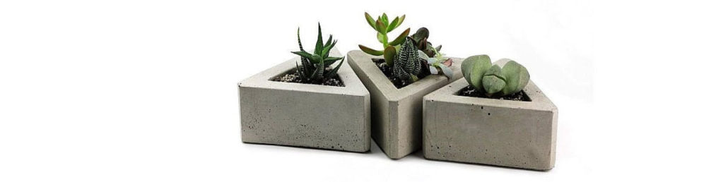 Check out stores like Etsy for concrete accessories to match your new look